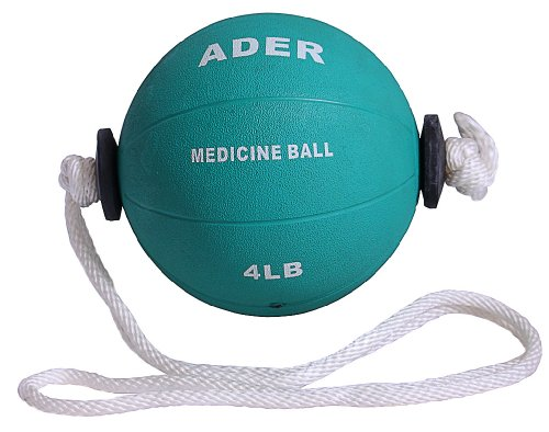 4 lb Power Rope Medicine Ball