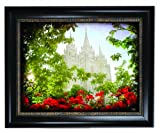 Vintage Salt Lake Temple 10x13 Framed