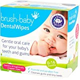 Brush-Baby Dental Wipes 28 - VALUE PACK OF 2 BOXES