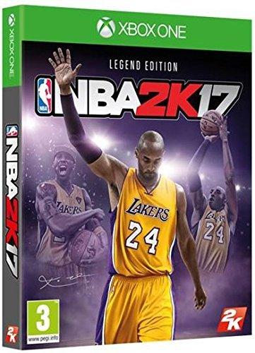 2k Nba 17 Xbox One Kobe Bryant Legend Edition Amazon In