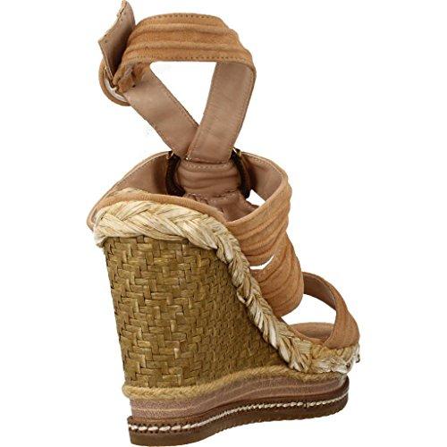 Sandales Couleur Marque V18366 Vert suesand Pena Marron Modã¨le Sandales Alma En Vert nT61EE