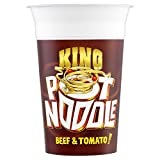 Pot Noodle King Pot Noodle Beef & Tomato Flavour (114g) - Pack of 6