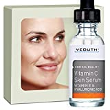 Vitamin C Serum For Day with Hyaluronic Acid Serum, Vitamin E, Anti Aging, Anti Wrinkle, Fill Fine Lines, Evens Skin Tone, Fades Age Spots, Medical Grade Skin Care Formula For Face - YEOUTH