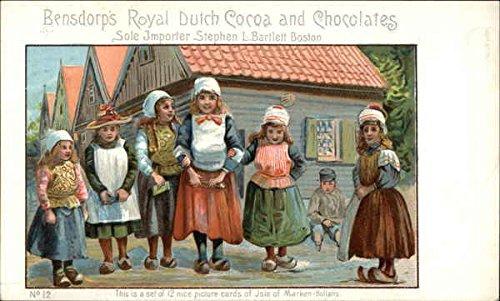 Vintage Advertising Postcard: Bensdorp