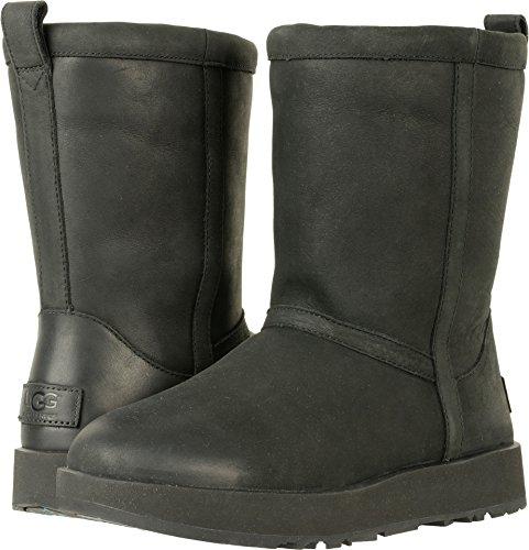 UGG Womens Classic Short L Waterproof Rain Boot Black Size 7.5 by UGG