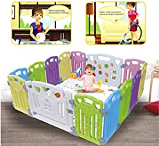 4cc5018c1515 Baby Playpen Kids Activity Centre Safety Play…