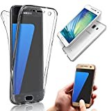 Samsung Galaxy A5 (2015) Case,Vandot Luxury Soft Flexible TPU Case Utra Slim Thin Transparent Back Cover 360 Degree Full Body Front and Back Non-slip Shock Absorbent Protective Skin -Crystal Clear