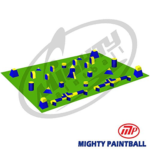 MP Paintball Bunker Package - 5 Man PRO Tourney Field (MP-TN-5PRO) by MP - Mighty Products