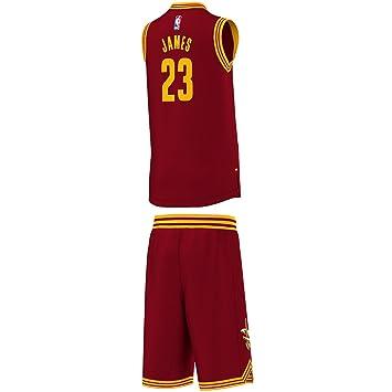 promo code 8f57e 41b57 adidas Cleveland Cavaliers Kit for Boys, Boys', Trikot Cleveland Cavaliers  Kit