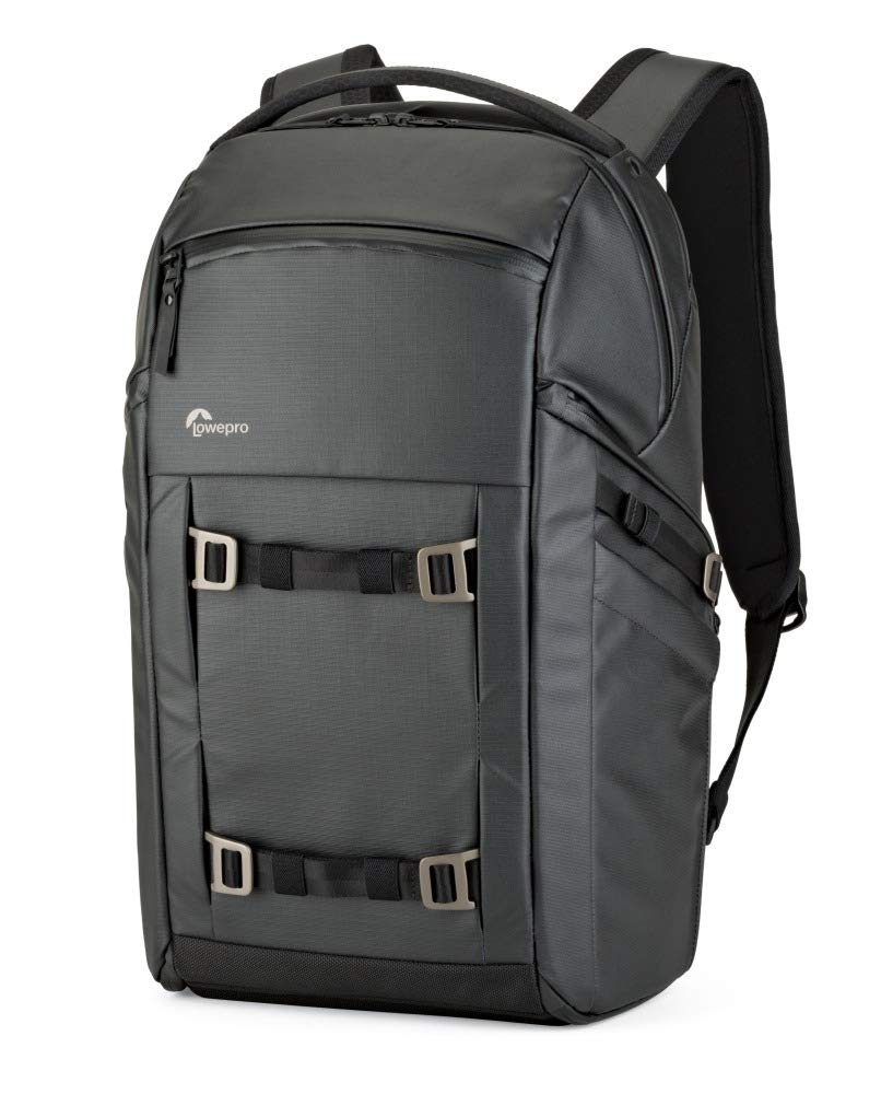 Lowepro FreeLine Camera Backpack 350 AW, Black, Versatile Daypack Designed for Travel, Photographers and Videographers, for DSLR, Mirrorless, Laptops, Bridge, CSC, Lenses and Travel Gear,