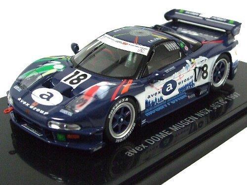 EBBRO 1/43 avex DOME NSX JGTC 1997   18 Blau / Weiß (japan import)