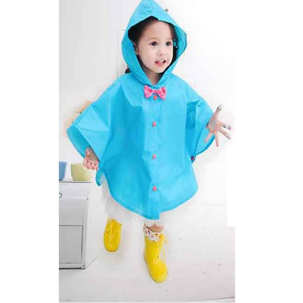 Juleya Principessa Bow Bambini Poncho Spesso Nylon Bambini Raincoat Juleya Network Technology Ltd N160502HD-J