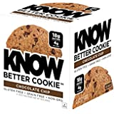 WISSEN Foods Gluten Free, Low Carb, Protein Cookies, Chocolate Chip, 4g Net Carbs - 4 Count (Packaging May Vary)