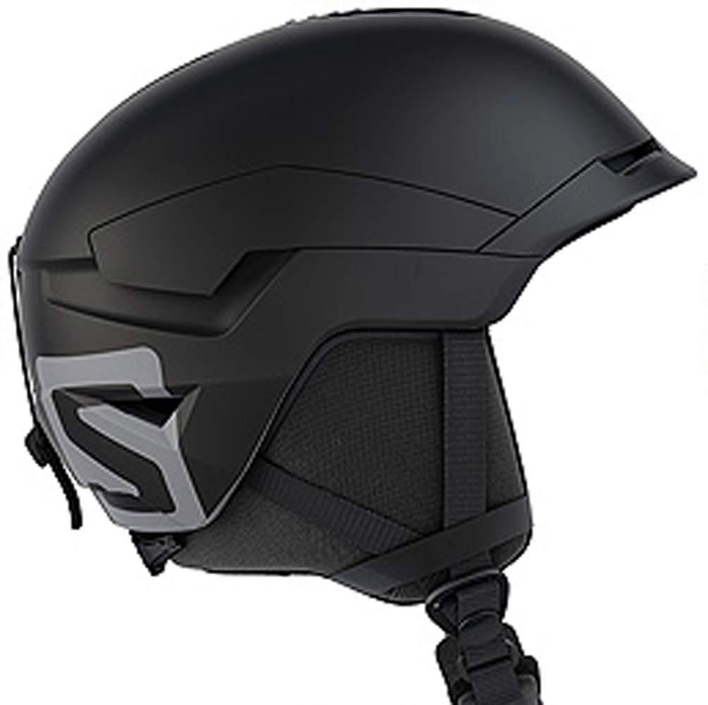 18-19 SALOMON (サロモン) ヘルメット QUEST ACCESS 黒 クエスト スノーヘルメット スノーボード スキー  L(59-62)