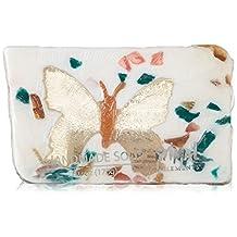 Primal Elements Butterfly Bar Soap in Shrinkwrap, 6-Ounce