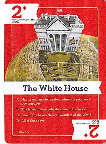 White House trading card gaming Travel Through Time #24 Washington DC USA