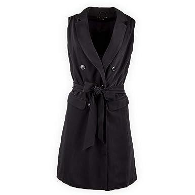 Best Mountain Robe Noire Blazer sans Manche Femme L Noir  Amazon.fr ... a376fdf1c797