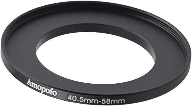 Original Manufactory Package 40.5mm to 62mm //40.5mm to 62mm Step Up Ring Filter Adapter for Canon//for Nikon and for Sony UV,ND,CPL,Metal Step Up Ring Adapter
