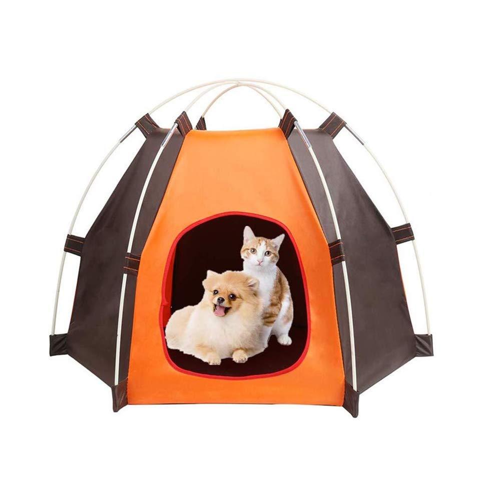 ANPI Cama Plegable Portátil para Perros, Tienda impermeable para Animales Pequeños, Perros y Gatos, Ideal para Viajes de Campamento al Aire Libre