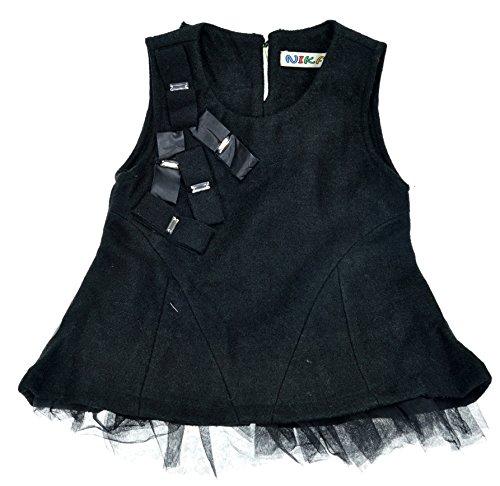 DOKI Little Girls' NylonVest Dress 4T Black