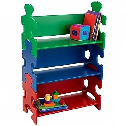 Rosebery Kids Puzzle Bookshelf