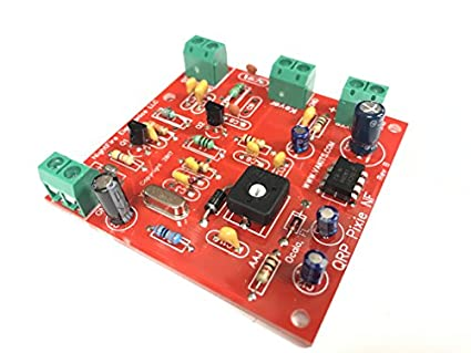 QRP Pixie CW Transceiver Built and Tested - 7 110 MHz (40 Meters