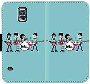 El Beatles Comics Z3I5R Funda Samsung Galaxy Note caja de la carpeta de cuero Funda 4 610 324 Custom cubiertas del teléfono celular