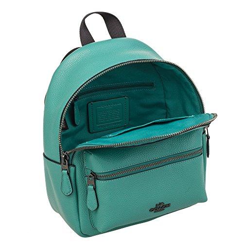 F28488 green Backpack Leather Womens mini COACH xqfnIHC
