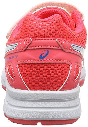 Asics Pre Galaxy 9 Ps, Zapatillas de Running para Niñas Varios colores (Diva Pink / White / Diva Blue)