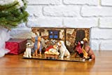 Canine Creche Dog Nativity Scene Decoration, 7