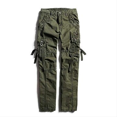 GZKKSH Overol Pantalones de chándal de Camuflaje para Hombre 30 ...