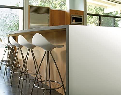 dc-fix Lámina autoadhesiva Uni satinada blanca 67,5 cm x 2 m
