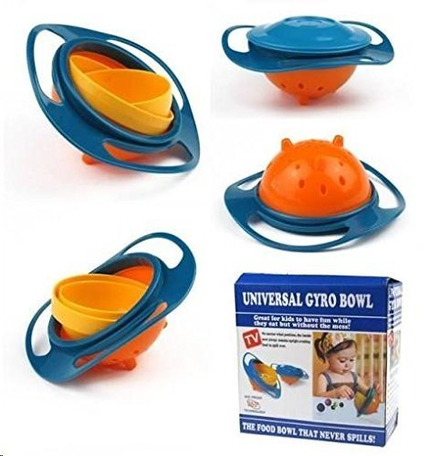 Kids no spill food gyro bowl (Gyroscopic Bowl)
