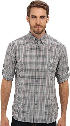 John Varvatos Men's L/S Sportshirt Moon Mist Button-up Shirt 2XL