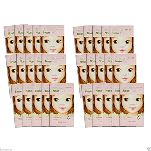 Etude House 30pcs Green Tea Nose Pack Blackhead Remover Nose Strip by Etude House