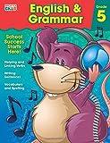 English & Grammar Workbook, Grade 5 (Brighter Child Workbooks)