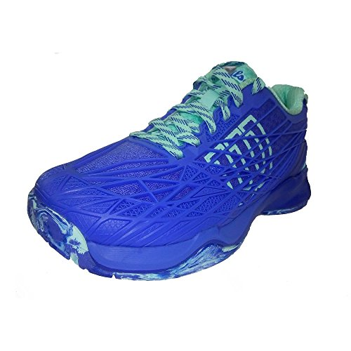 Wilson Wrs322470e050, Scarpe da Tennis Donna, Blu (Amparo Blue / Surf the Web / Aruba Blue), 38 2/3 EU