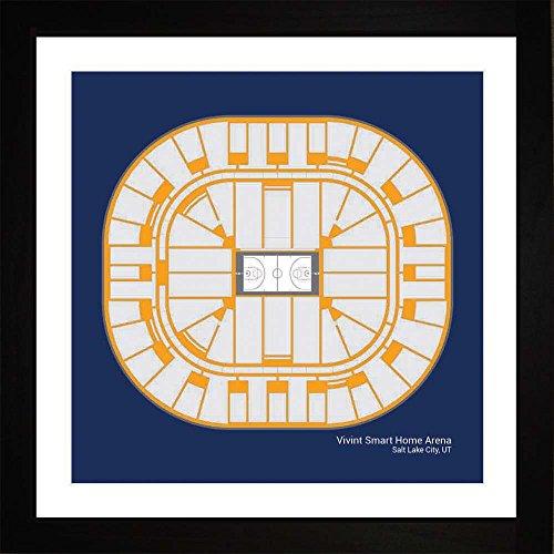 Utah Jazz Vivint Smart Home Arena Arena Framed Art Gift