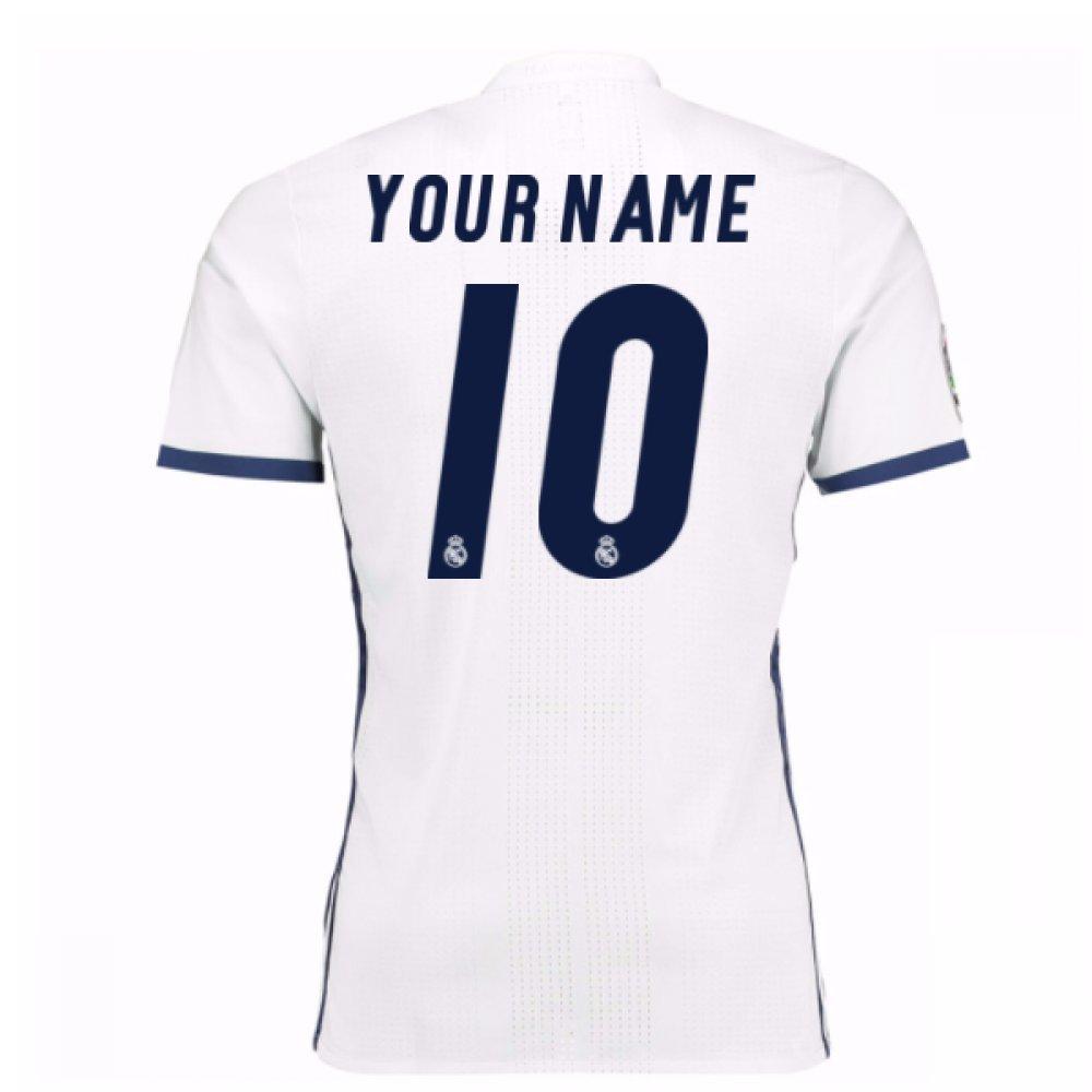 2016 – 17 Real Madrid Home Shirt ( Your Name ) B078DZC89Nホワイト XL 44-46\