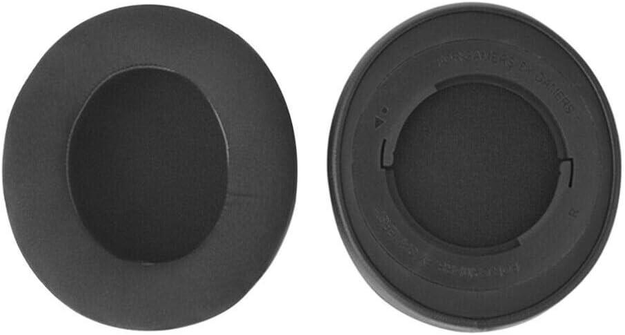 Xingsiyue Reemplazo Espuma de Memoria Almohadillas de Auriculares Coj/ín de O/ído para Razer Kraken 7.1 V2 Auriculares Negro