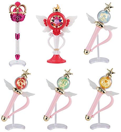 Gashapon Sailor Moon Stick and Rod 4 Set