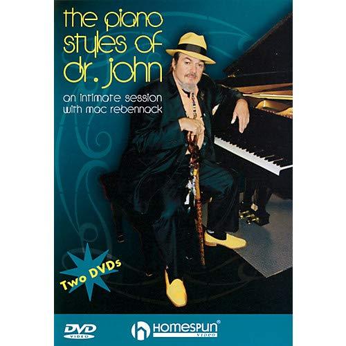 Dvd Two Homespun - The Piano Styles of Dr. John - 2-DVD Set Homespun Tapes Series DVD Written by Dr. John Rebennack