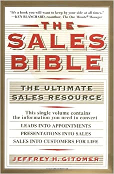 Book The Sales Bible The Ultimate Sales Resource