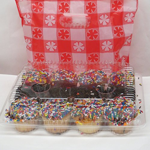 clear plastic mini cupcake boxes product image