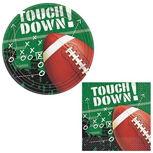 Football Frenzy Bundle: Lunch Napkins and Plates