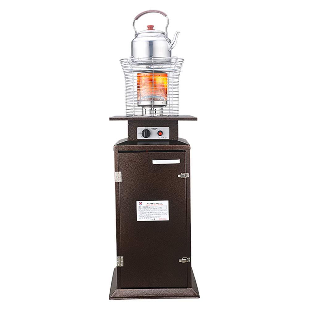 Radiador eléctrico MAHZONG Estufa de calefacción de Gas Natural Estufa de asado Interior de Ahorro de energía -4.5W: Amazon.es: Hogar
