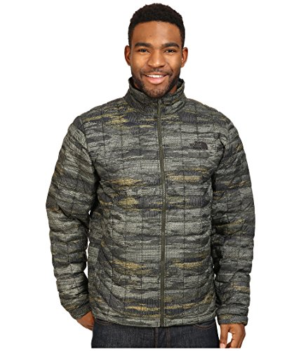 The North Face Men's Thermoball Fullzip Green Glamo Nylon Jacket M by The North Face