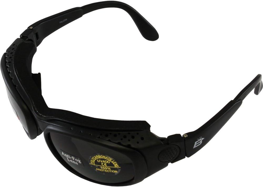 Motorcycle ATV Anti Fog Day Night Biker Goggles Sunglasses 3 Lenses