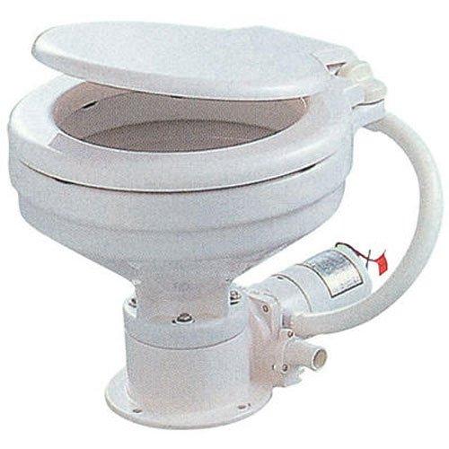 TMC マリントイレ 電動 水洗トイレ コンパクトボウル 24V   B0098UFTKE