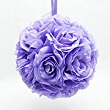Q.J. Import, Inc 10'' Lavender Flower Pomander Kissing Ball